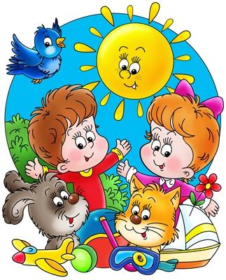 Оздоровление детей в летний период, элемент оформления
